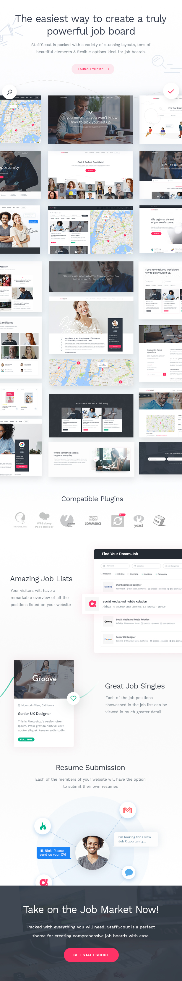 StaffScout - Job Board and Employment Theme - 1